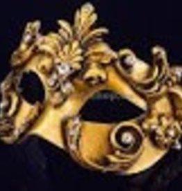 Carta Alta COLOMBINA BAROCCO ACQUA GOLD