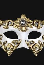 Carta Alta COLOMBINA BAROCCO WHITE AND GOLD
