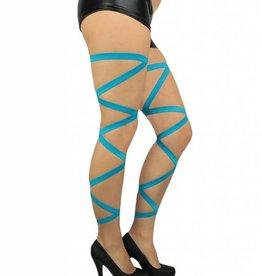 Leg Wraps - Blue turquoise