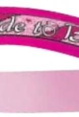 Bride To Be Sash - Pink