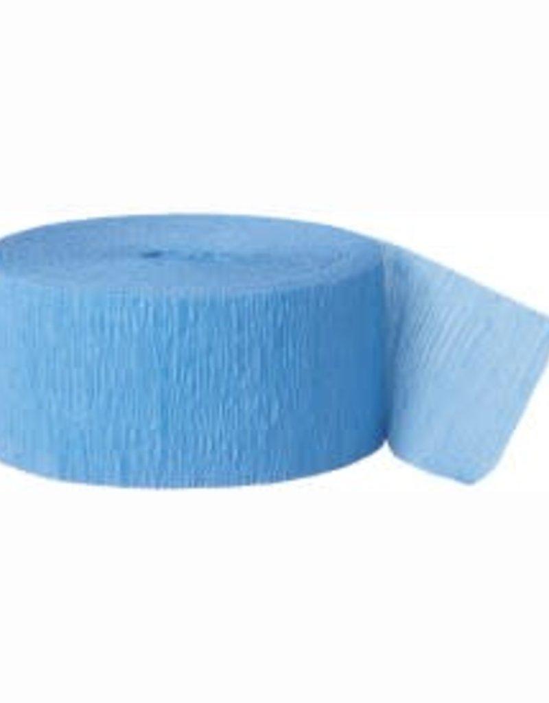 Crepe Streamer - Blue