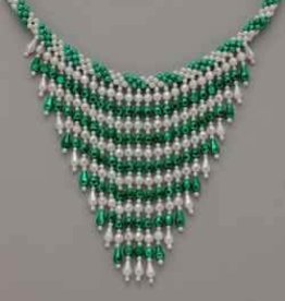 St. Patrick's Day Bead Necklace