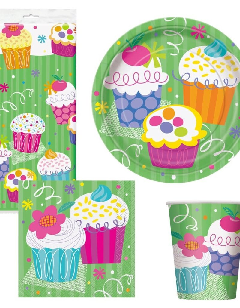 CUPCAKE PARTY PACK (8 Piece)