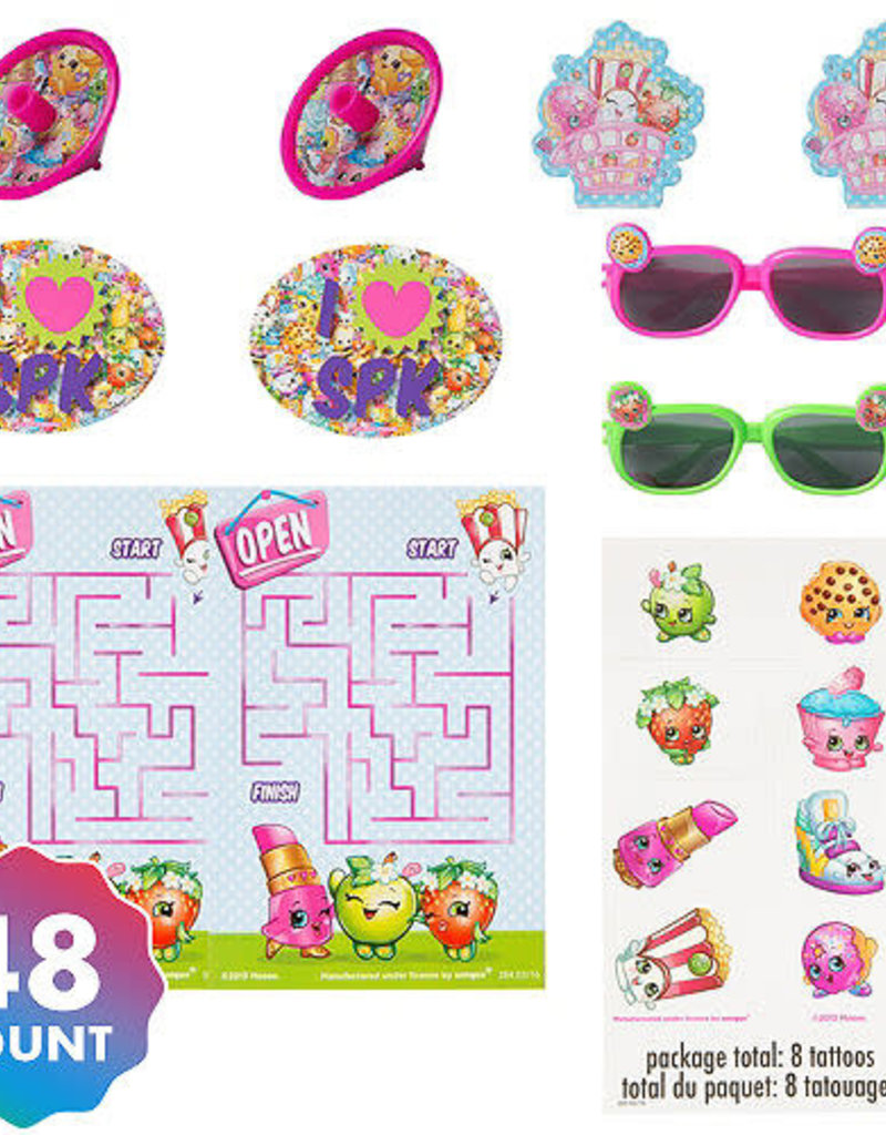 SHOPKINS 48 PIECE PARTY FAVOR ASSORTMENT