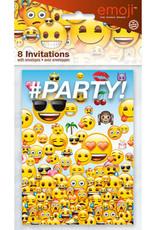 EMOJI INVITATIONS (8PK)