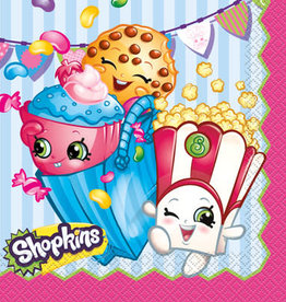SHOPKINS LUNCHEON NAPKINS (16PKG)
