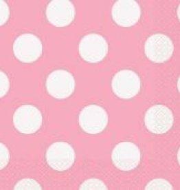 LOVELEY PINK DOTS NAPKINS (16 PER PKG)