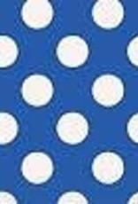 LUNCHEON NAPKINS ROYAL BLUE DOTS 16PK