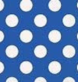 LUNCHEON NAPKINS ROYAL BLUE DOTS 16PK