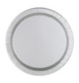"9"" ROUND SILVER PLATE (8 PK)"