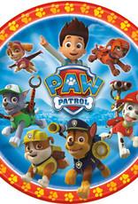 "9"" PAW PATROL PLATES (8PK)"