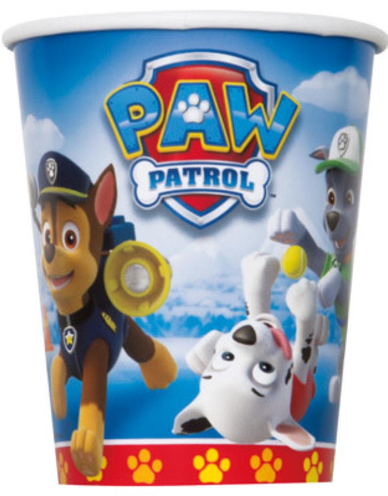 PAW PATROL 9oz CUPS (8 PK)