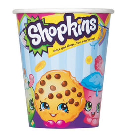 SHOPKINS 9 OZ CUPS (8PKG)