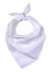 Plain Bandana - White