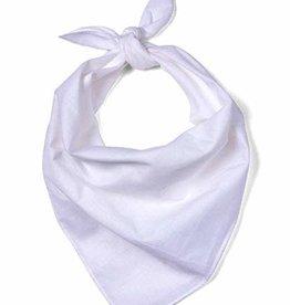 Plain Bandana - White