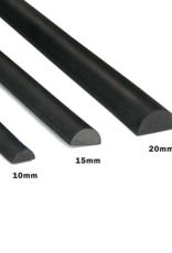 lunim EVA Half Round Foam Dowels - 20mm