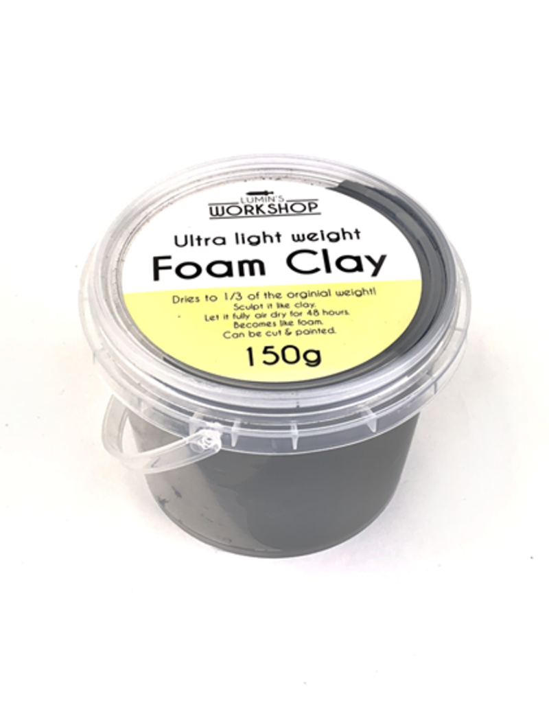 lumin 150g Foam Clay - Grey