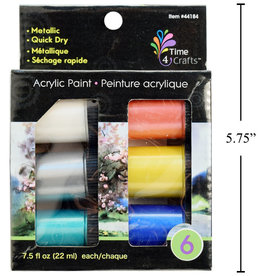 Acrylic Paint - 6 Pack