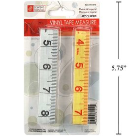 "60"" Vinyl Measuring Tape - 2 Pack"