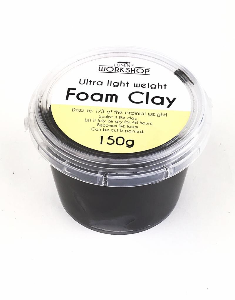 lumin 150g Foam Clay - Black