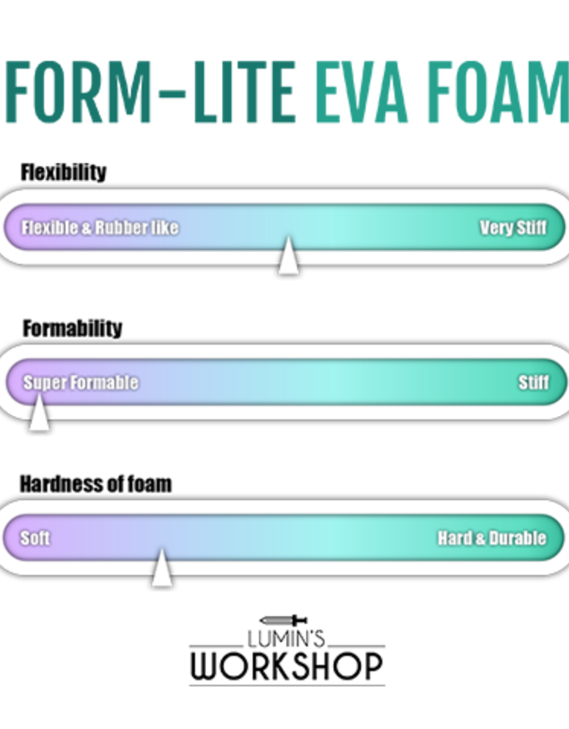 Lumin's Workshop Form-Lite EVA Foam Sheet - 10mm