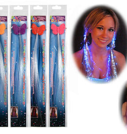 LED Fibre Optic Colour Changing Hair Clip