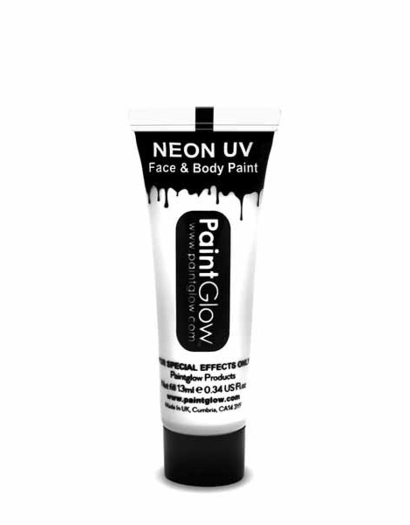 Neon UV Face Paint - White