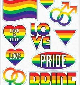 Beistle Pride Peel 'N' Place