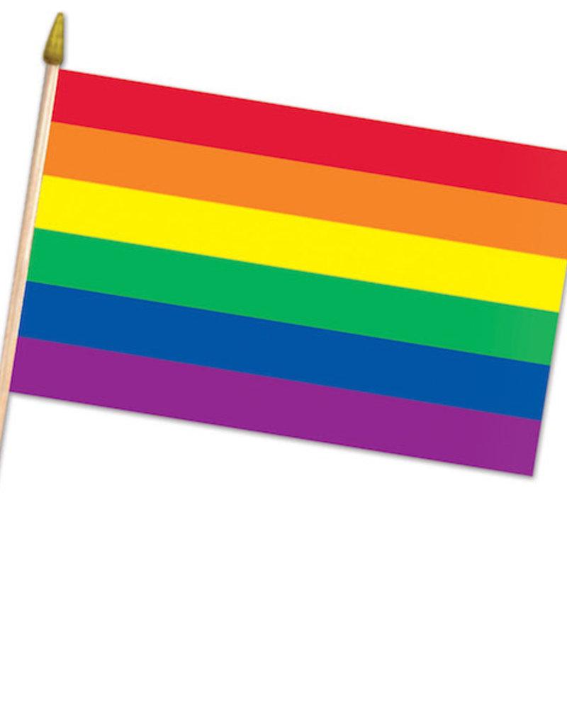 """Beistle Rainbow Flag - 22"""""""