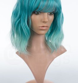Arda Wigs Kelly Classic - Teal/Mint Blend