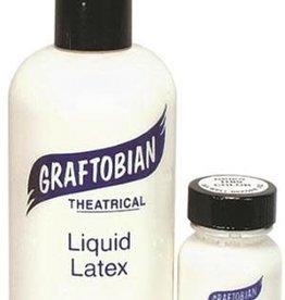 Graftobian Clear Liquid Latex - Theatrical Adhesive 8oz