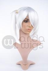 """Arda Wigs Chibi Classic (Small - 21"""") - Pure White"""