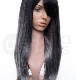 Arda Wigs Miya Classic - Black/Grey Ombre