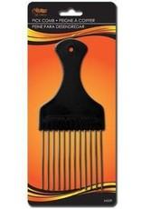 Arda Wigs Wide Metal Pick Comb