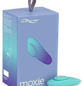 We-Vibe Moxie Wearable Vibrator - Aqua