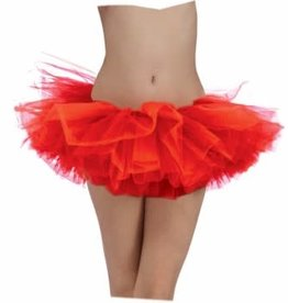 Forum Novelties Coloured Tutu - Red