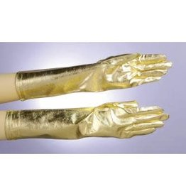 Gloves - Gold Lame
