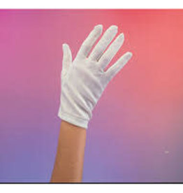 Short Ladies Parade Gloves - White