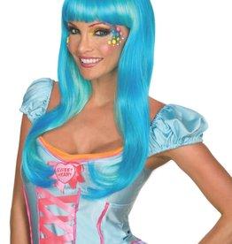 Candy Babe Wig - Aqua