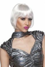 Brassy Wig - White