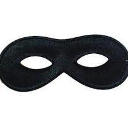 Domino Half Mask - Black