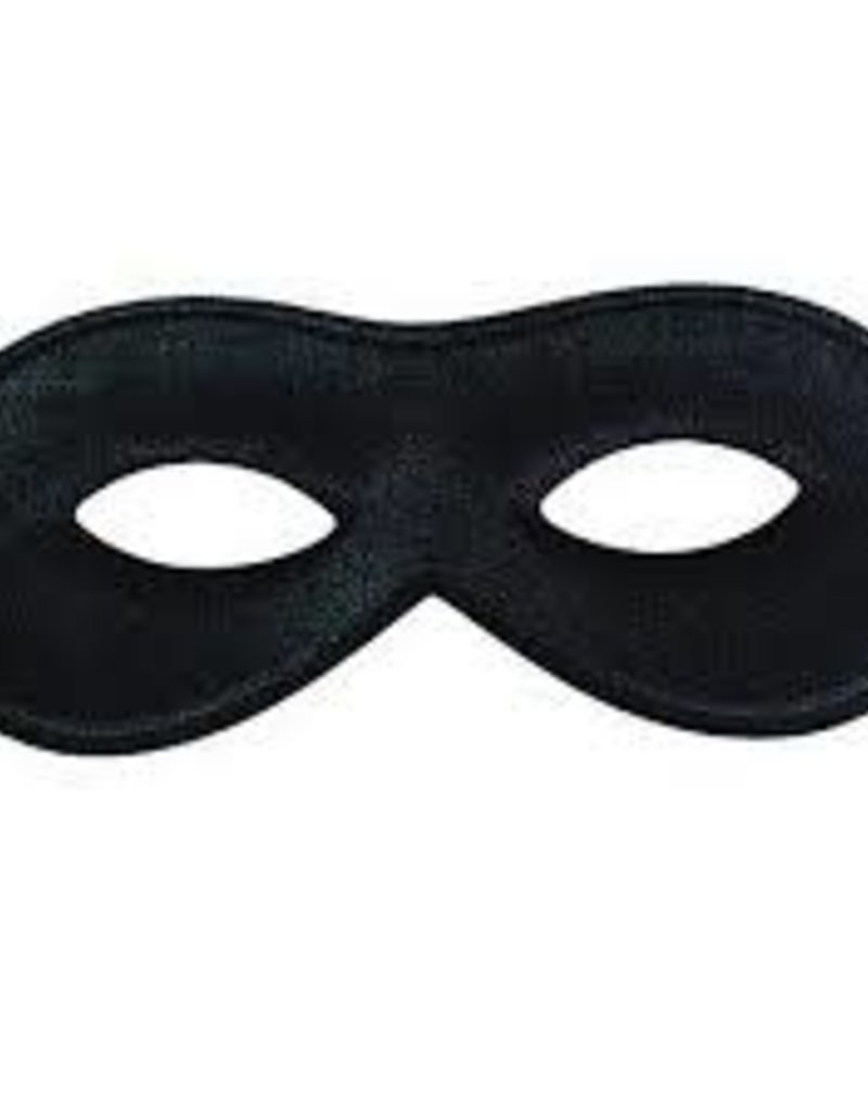 Domino Half Mask - Black