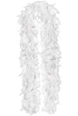 Feather Boa - White