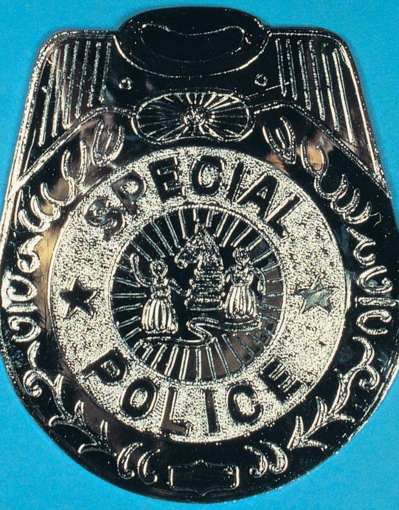 """7"""" Jumbo Police Badge"""
