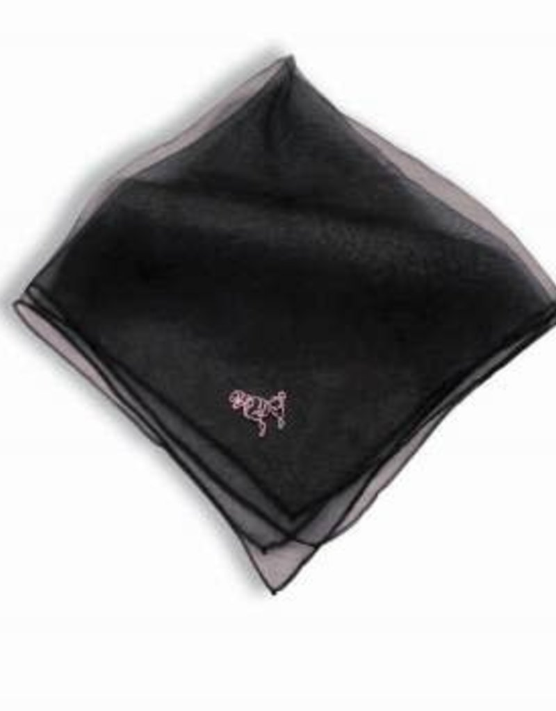 Poodle Scarf - Black