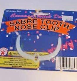 Sabre Tooth Nose Clip