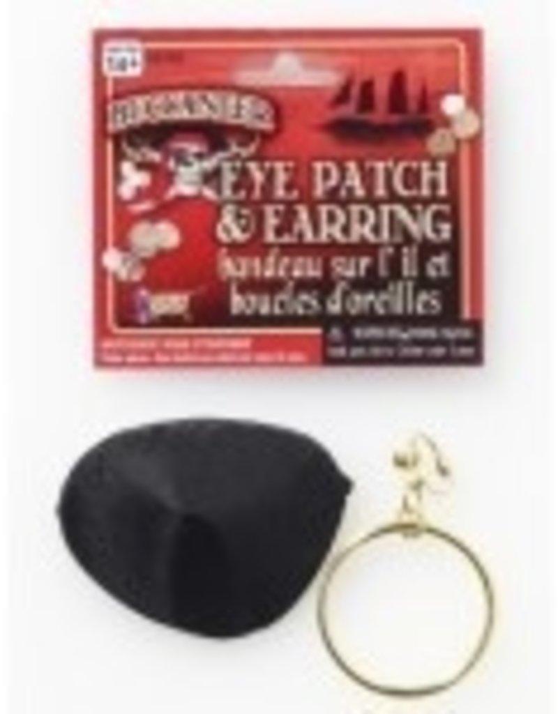Pirate Earring & Eyepatch