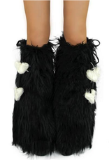 IHEARTRAVES Fluffies - Black