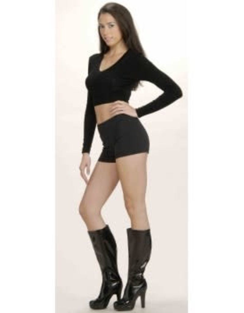 Hot Little Shorts - Black - Medium