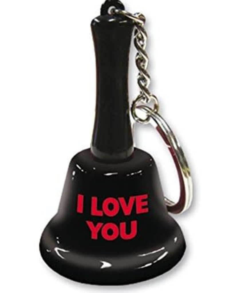 I Love You Keychain Bell
